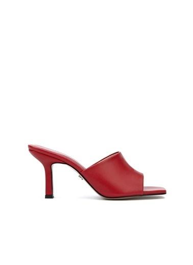 Divarese 5025400 Kadın Terlik Kırmızı